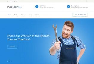 PlumberPro – Premium Responsive HTML5 Template