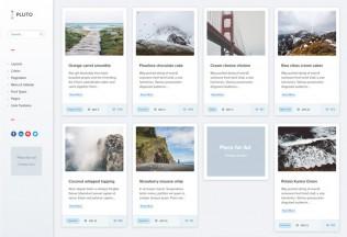 Pluto – Premium Responsive Clean Personal WordPress Masonry Blog Theme
