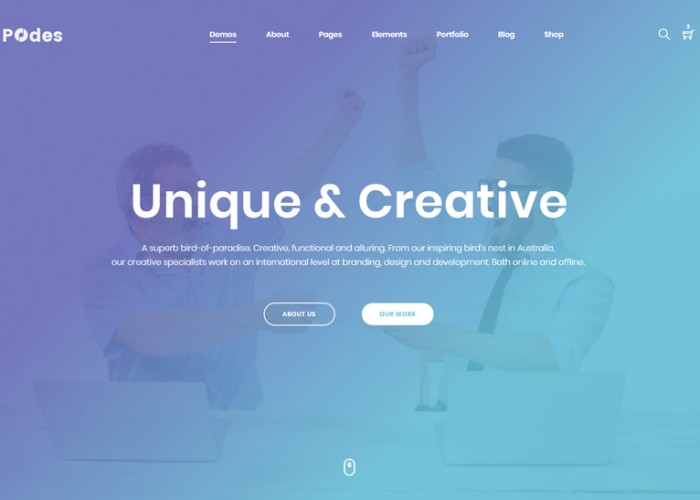 Podes – Premium Responsive MultiPurpose HTML5 Template