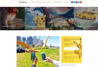 Pokemania – Premium Responsive Game Portal Pokemon WordPress Theme