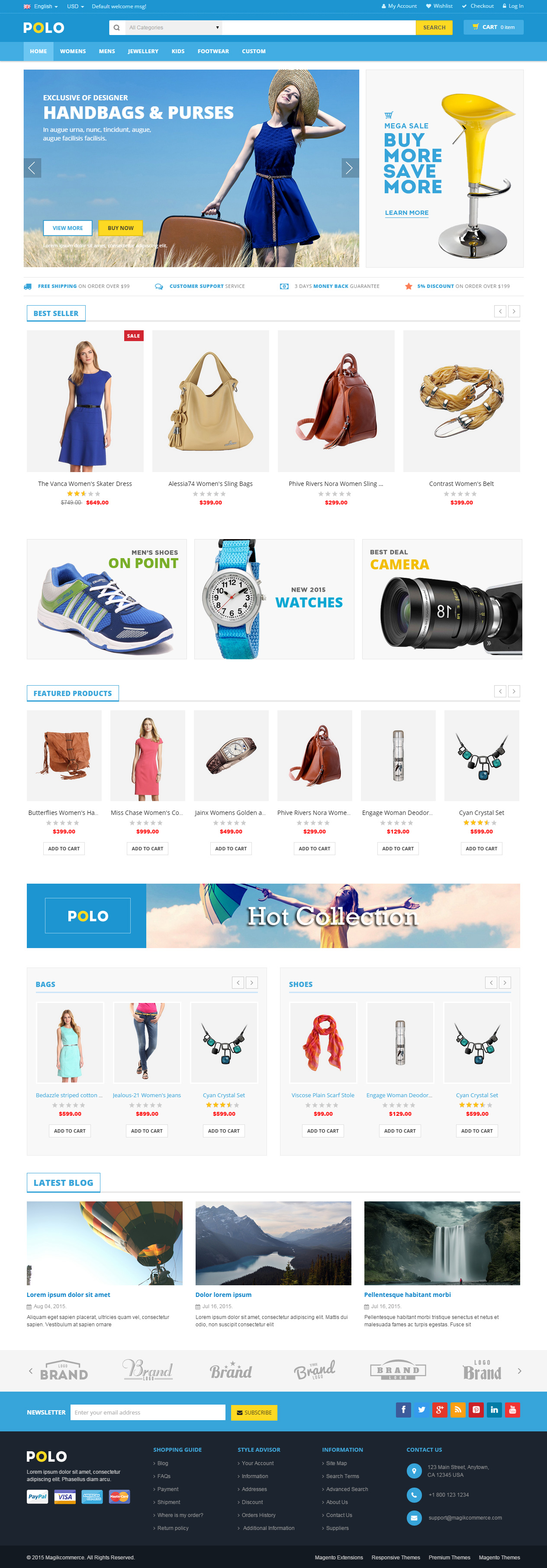 55 best responsive magento bootstrap 3 themes in 2015 responsive live demo fandeluxe Images