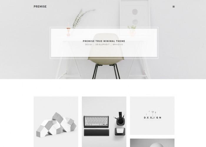 Premise – Premium Responsive Minimal Portfolio Muse Template