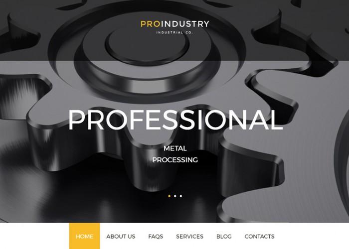ProIndustry – Premium Responsive Industrial WordPress Theme