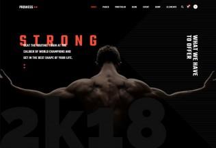 Prowess – Premium Responsive Fitness and Gym WordPress Theme