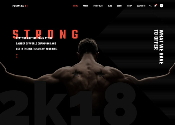 Prowess – Premium Responsive Fitness and Gym WordPress Theme