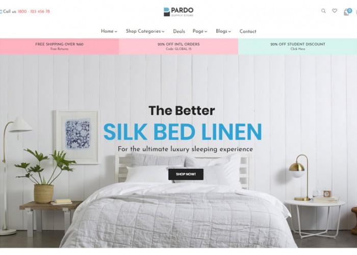 Pts Pardo – Premium Responsive Bedroom Furniture Prestashop Theme