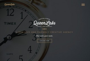 Queen – Premium Responsive One Page Parallax HTML5 Template
