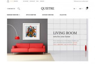 Quistre – Premium Responsive Furniture Magento Theme