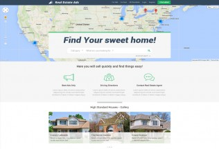 Real Estate Classifieds – Premium Responsive Listing Joomla Template