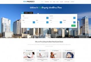 Real Property – Premium Responsive Real Estate WordPress Theme