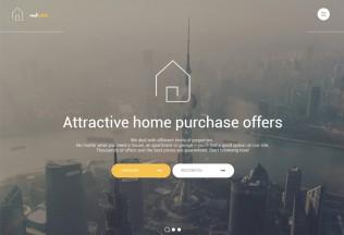 Real Estate – Premium Responsive HTML5 Template