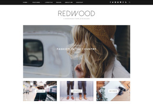Redwood – Premium Responsive WordPress Blog Theme