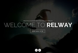 Relway – Premium Responsive One Page Parallax HTML5 Template