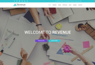 Revenue – Premium Responsive Business Joomla Template