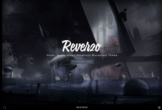 Reverzo – Premium Responsive Photo, Music & Video Creative ShopFolio WordPress Theme