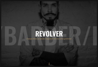 Revolver – Premium Responsive Tattoo Salons WordPress Theme