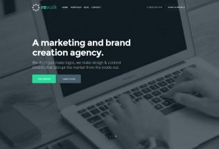 ReWalk – Premium Responsive Business HTML5 Template
