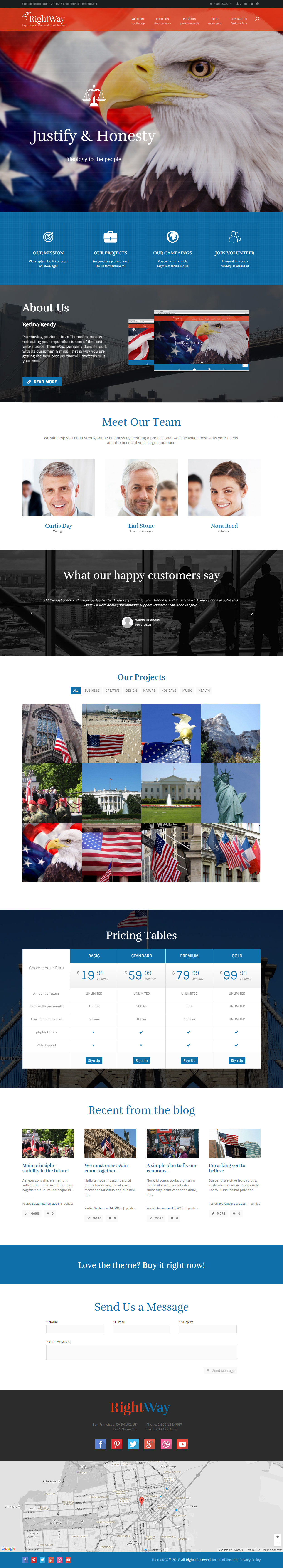 Best responsive government website templates 2017 responsive miracle right way government website templates pronofoot35fo Choice Image