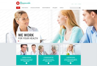Riverside – Premium Responsive Medical HTML5 Template