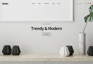 Robin – Premium Responsive Furniture WooCommerce WordPress Theme