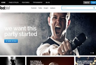 RockWall – Premium Responsive Music WordPress Theme