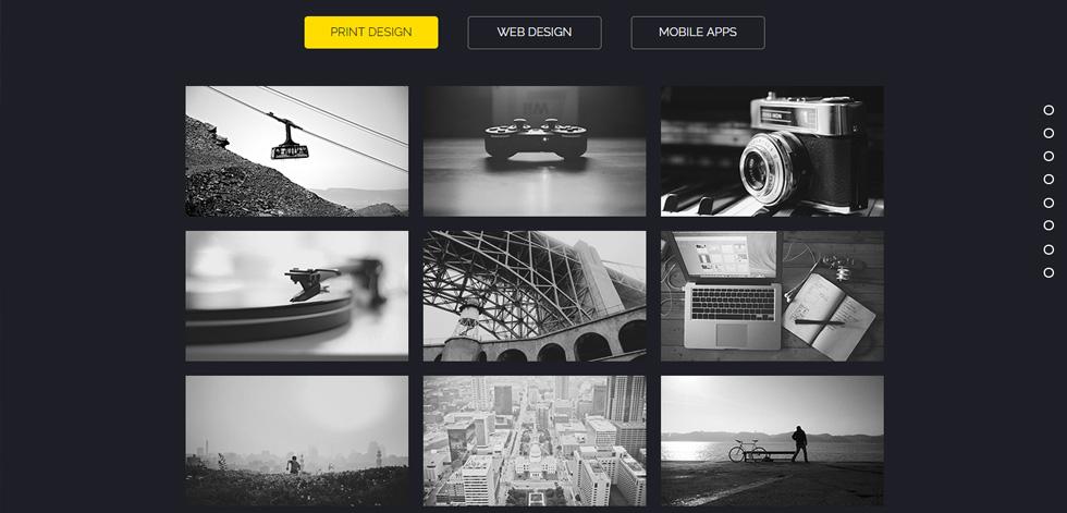 Rombo premium multipurpose portfolio muse template