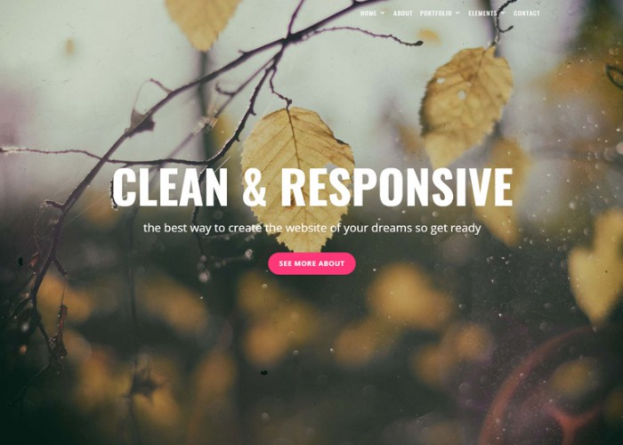 Rose – Premium Responsive Multipurpose One Page Drupal 8 Theme