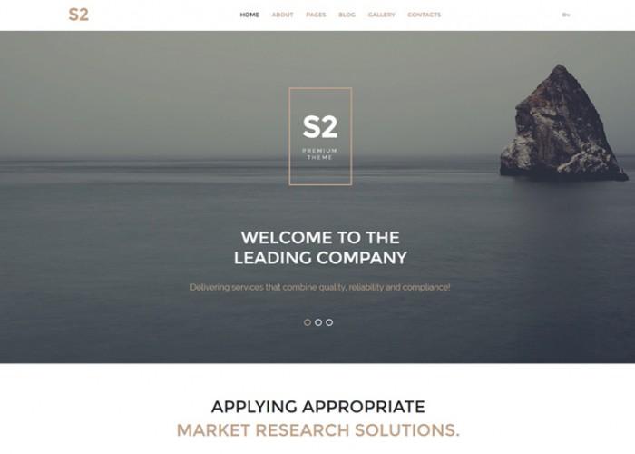 S2 – Premium Responsive Business Company Joomla Template