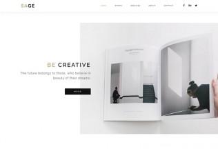 SAGE – Premium Responsive Creative Agency Portfolio Muse Template