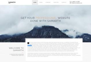 Samarth – Premium Responsive Creative Multipurpose Muse Theme