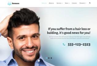 Samson – Premium Responsive Hair Salon WordPress Theme