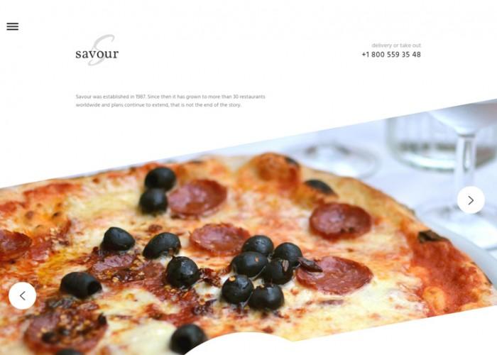Savour – Premium Responsive Cafe and Restaurant HTML5 Template