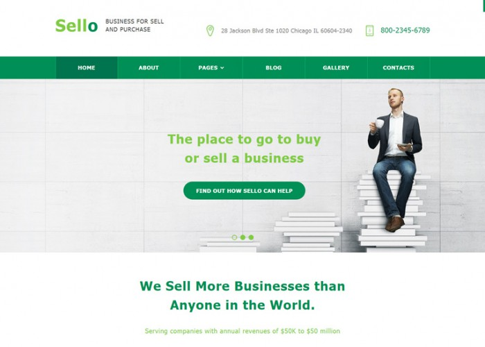 Sello – Premium Responsive Business Joomla Template