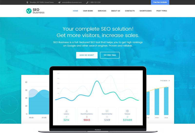 SEO Business - Premium Responsive SEO, Social Media & Marketing ...