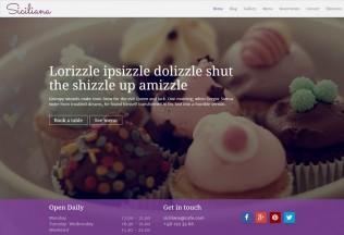 Siciliana – Premium Responsive Restaurant & Coffee HTML5 Template