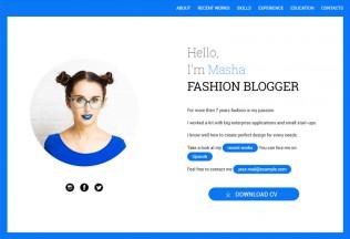 SimpleCV – Premium Resposnive CV and Resume HTML5 Template