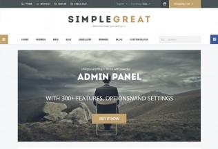 SimpleGreat – Premium Responsive Prestashop Theme