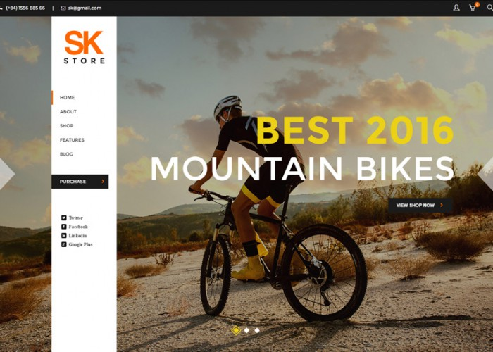 SK Store – Premium Responsive Store WordPress Theme for Sport