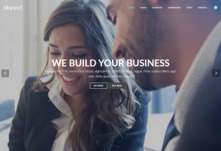 Skywell – Premium MultiPurpose Adobe Muse Template