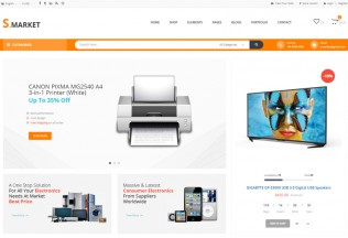 Smarket – Premium Responsive eCommerce Shop HTML5 Template