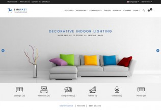 SMARKET – Premium Responsive Furniture Opencart Theme