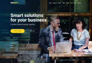 SmArty – Premium Responsive Multipurpose Muse Template