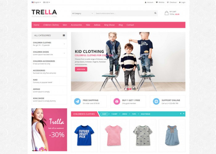 SNS Trella – Premium Responsive Prestashop Theme