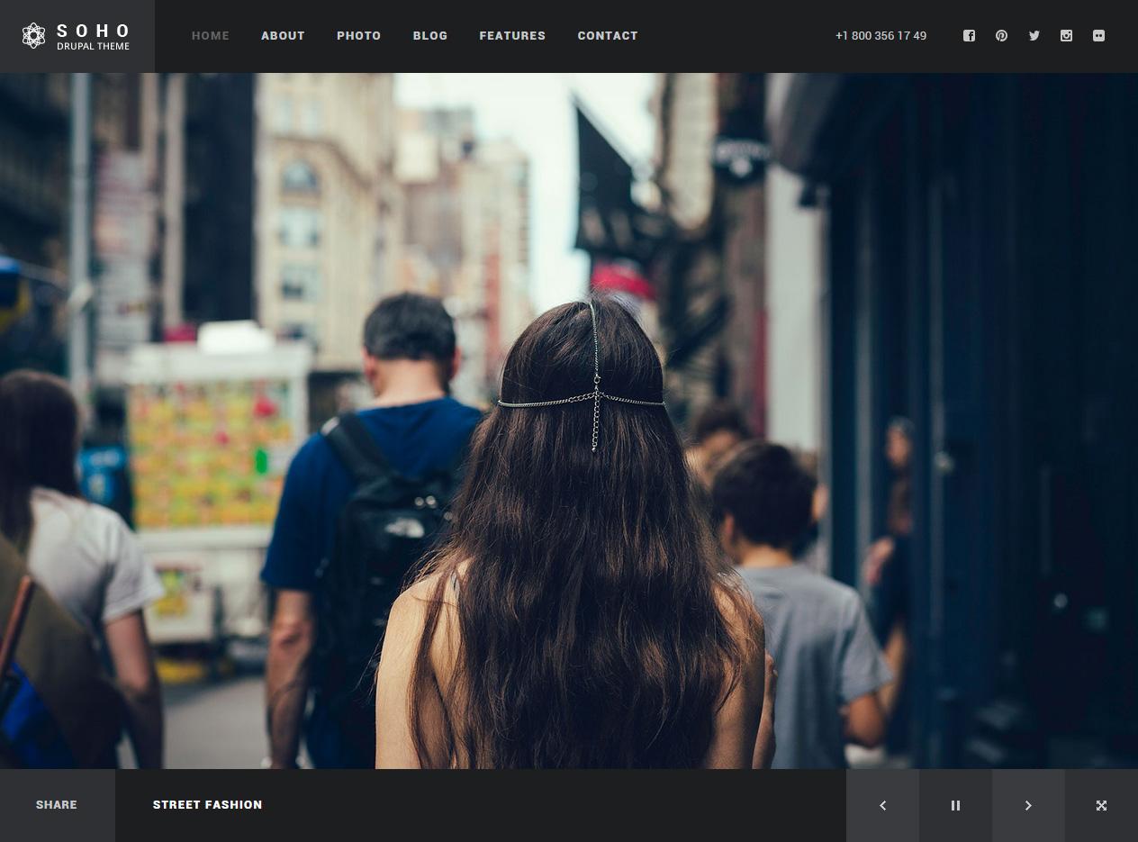 15+ Best Responsive Drupal Portfolio Themes 2017 - Responsive Miracle