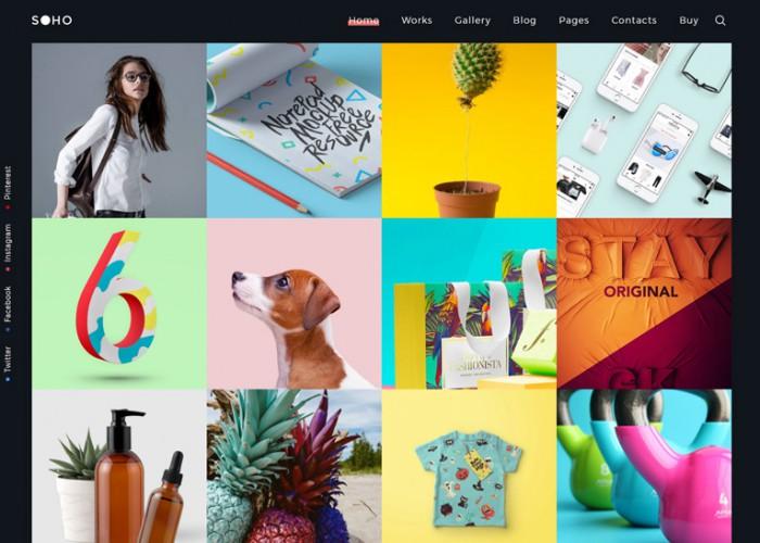 SOHO Pro – Premium Responsive Creative Portfolio WordPress Theme