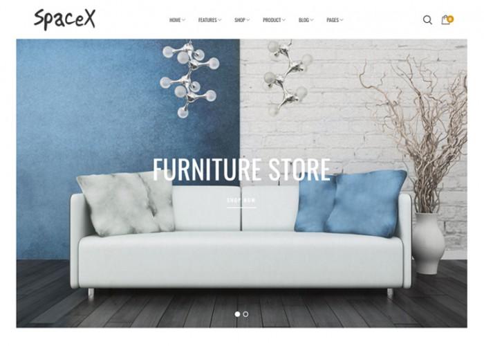 Space – Premium Responsive Interior Furniture Magento 2 Theme