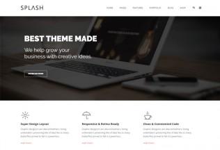 Splash – Premium Responsive MultiPurpose Bootstrap Drupal 8.4 Theme