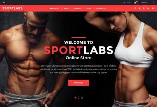 SportLabs – Premium Responsive WooCommerce WordPress Theme