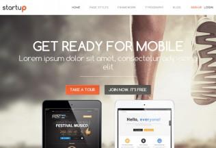 Startup – Premium Responsive Business WordPress Theme