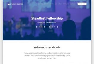 Steadfast – Premium Responsive WordPress Church Theme